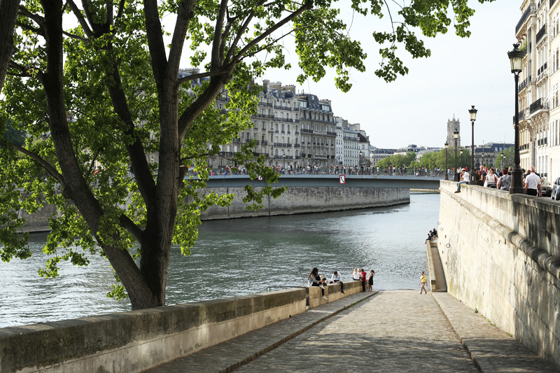 Paris - Relax sur l'Ile Saint-Louis