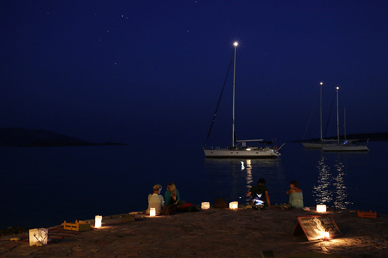 Small Cyclades, blue hours