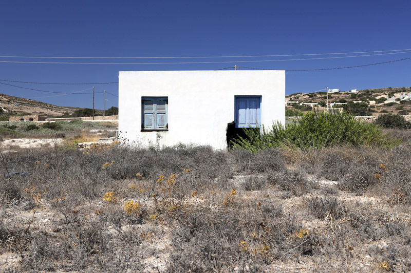 Small Cyclades house
